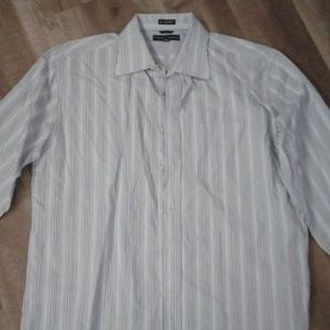 Tommy Hilfiger 80s 2 ply fabric dress shirt XL/XG